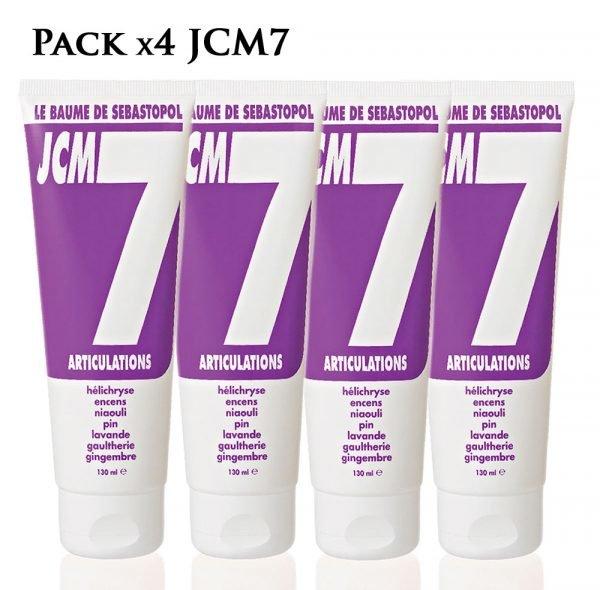 pack de 4 jcm7 baume articulations de jean raillon